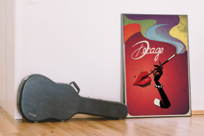 "Poster Vintage Decage ""Lips"""