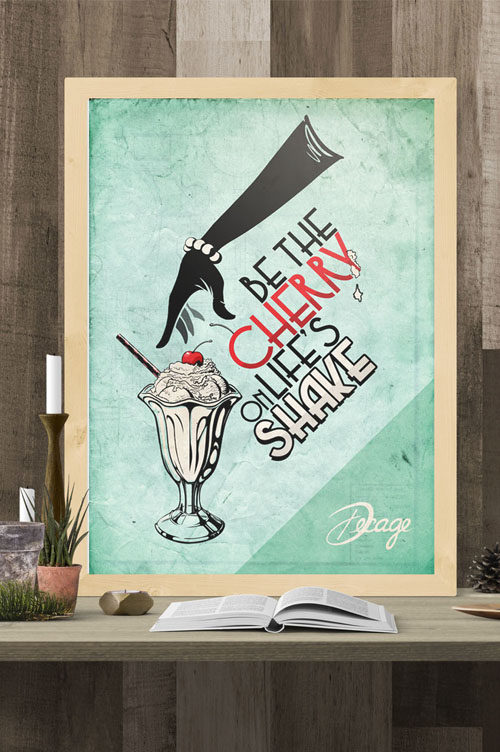 Poster Decage Life's Shake