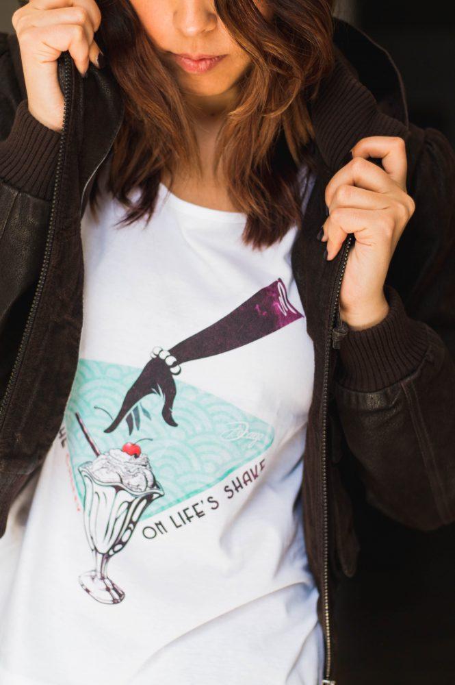 """Camiseta Gatsby Decage """"Shake"""""""
