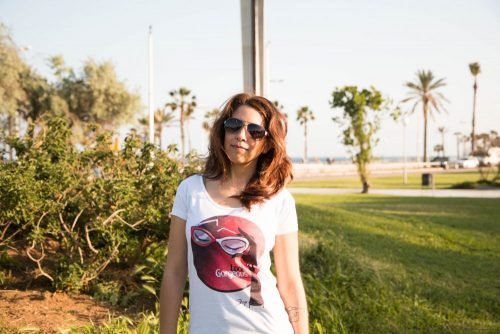 "Camiseta Decage Cuello Redondo ""Gorgeous"""