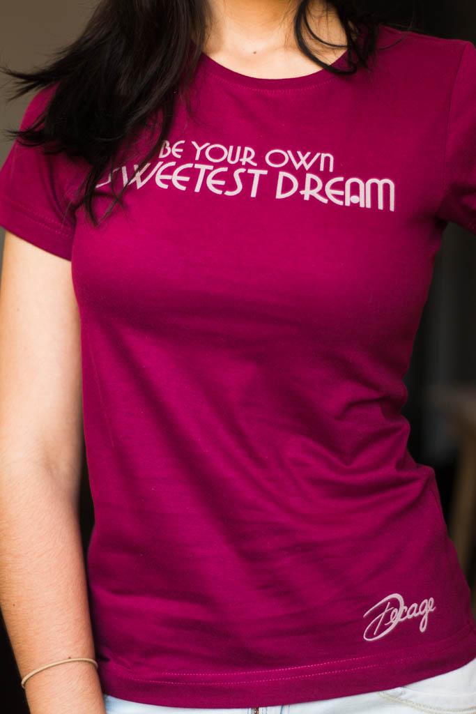 """Camiseta Decage Manga Corta """"Dream"""""""