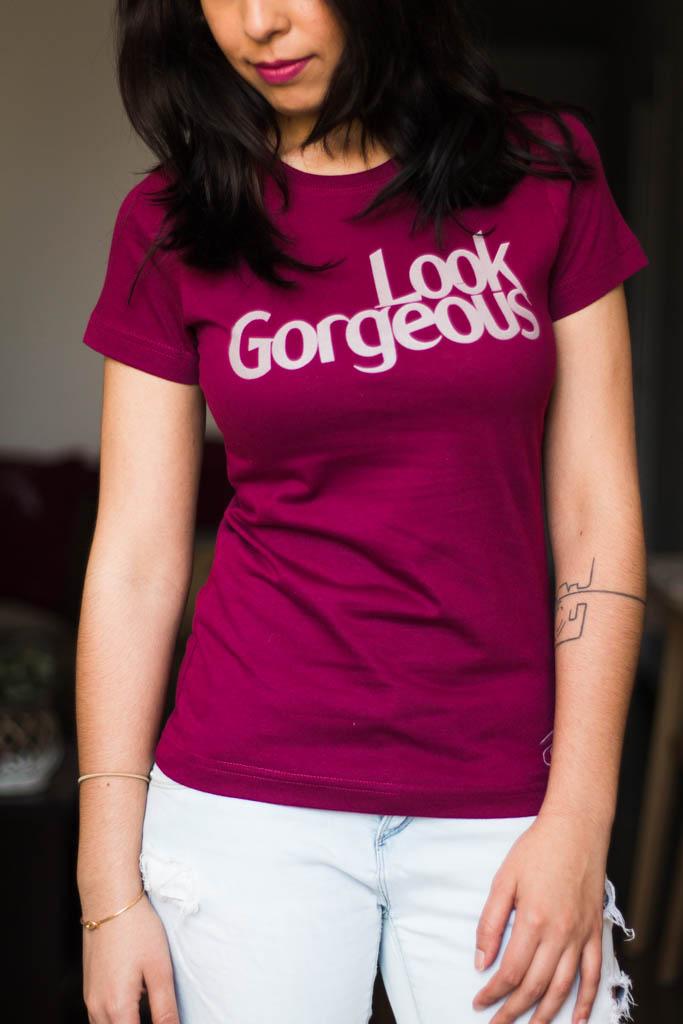 "Camiseta Decage Manga Corta ""Gorgeous"""