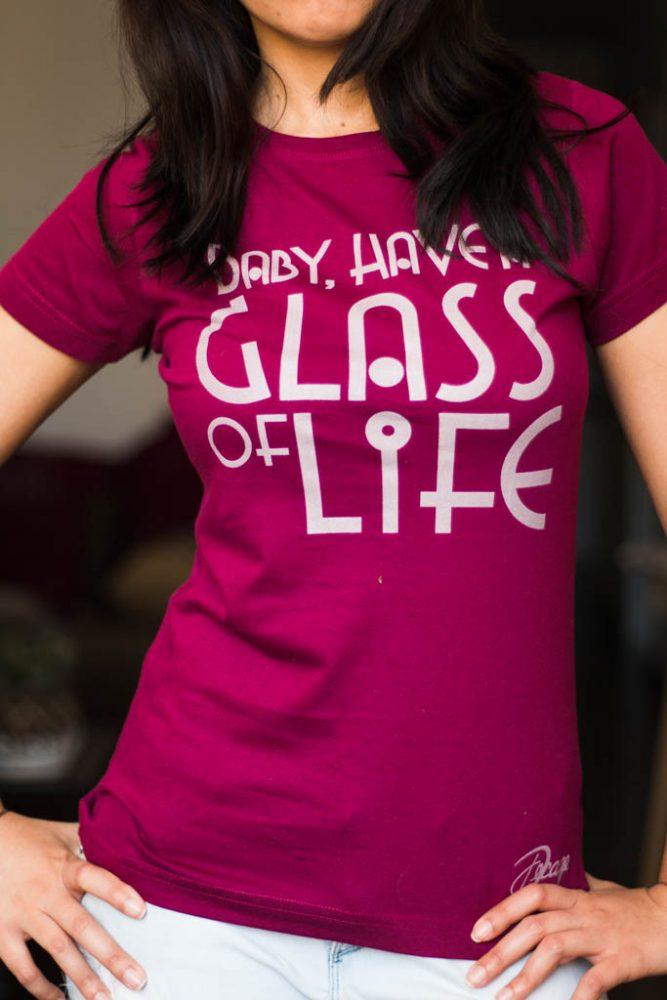 "Camiseta Decage Manga Corta ""Glass"""