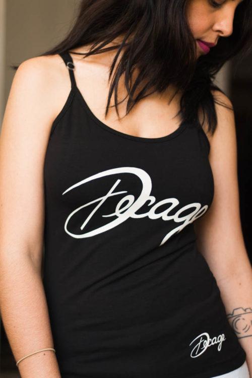 "Camiseta Decage Negra Tirantes ""Decage"""