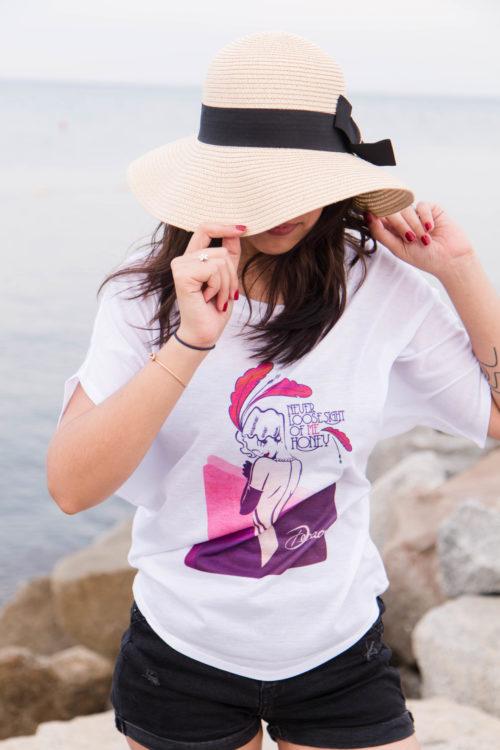 Camiseta Decage Ancha Elegance