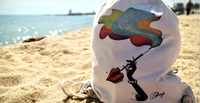 bolso para la playa decage