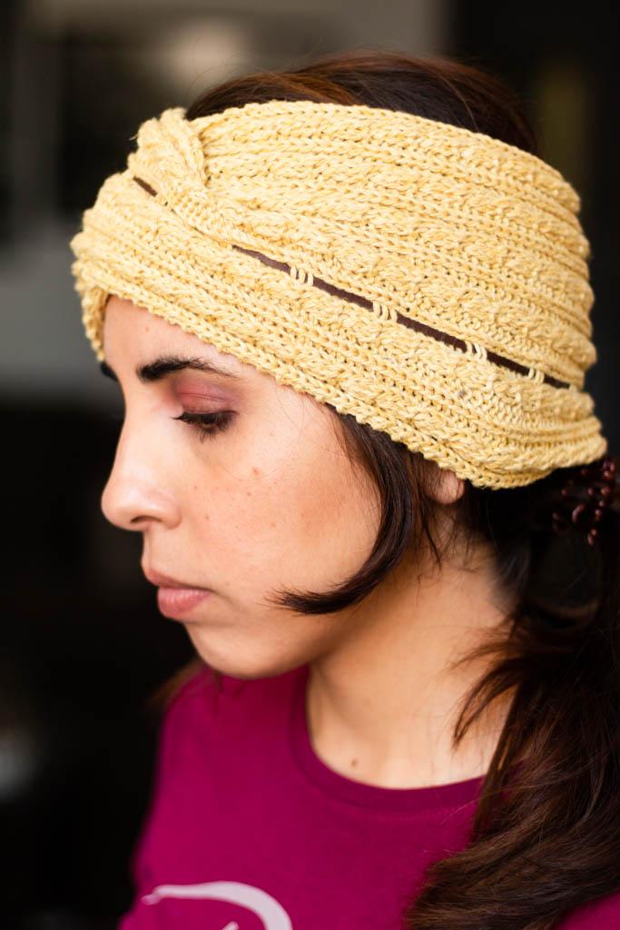 Bandana para el pelo tejida Decage
