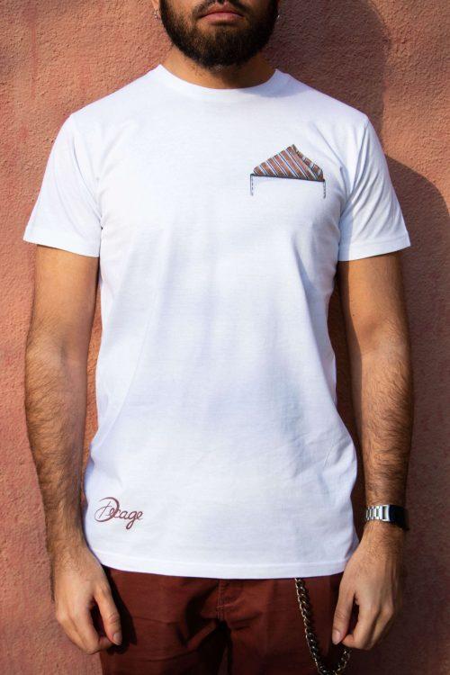 camiseta blanca decage so classy