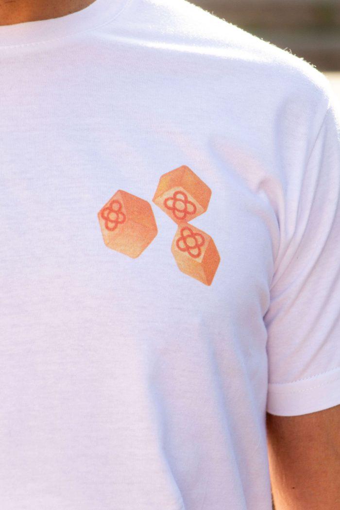 camiseta decage play bcn panot de flor