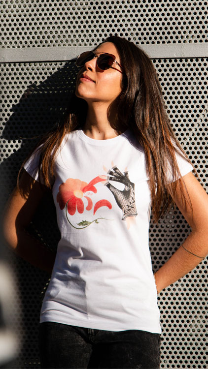 camiseta-vintage-decage-primavera-blanca-margarita