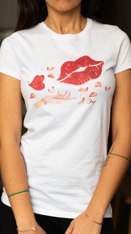 camiseta-decage-blanca-kisses-daydream